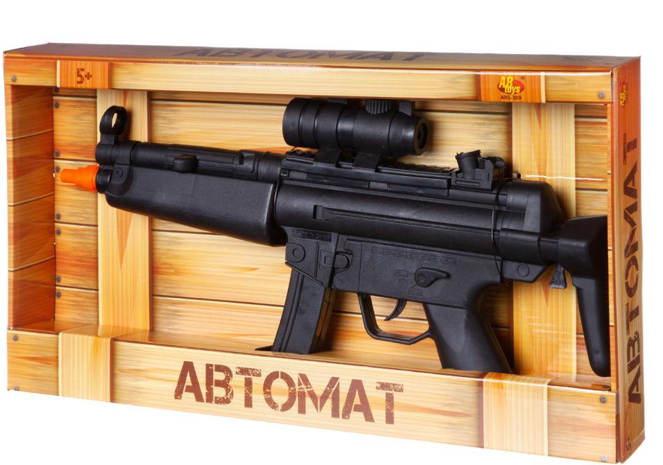Автомат ABtoys Arsenal со световыми и звуковыми эффектами