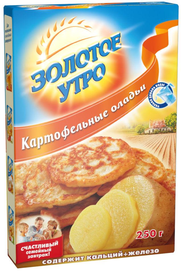 Смесь для выпечки Золотое утро Картофельные оладьи 250г