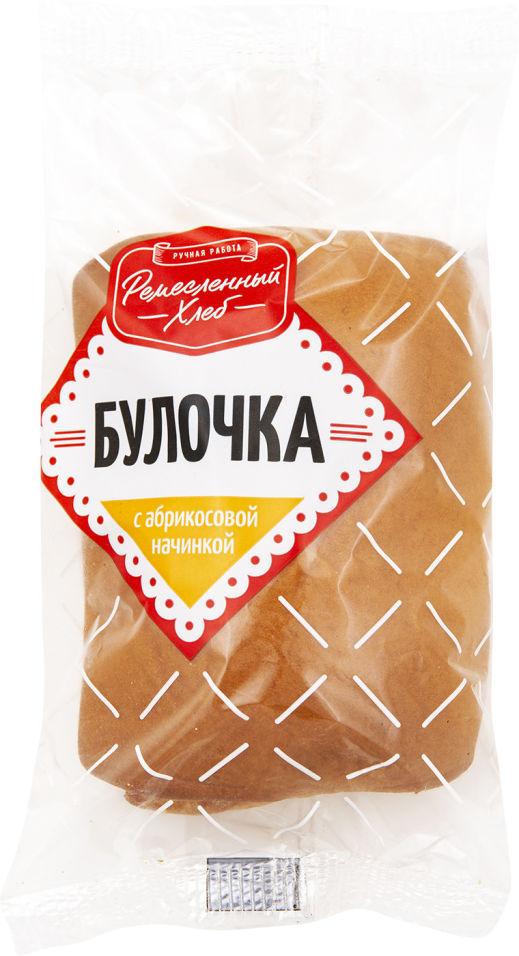 Булочка Ремесленный хлеб с абрикосовой начинкой 75г