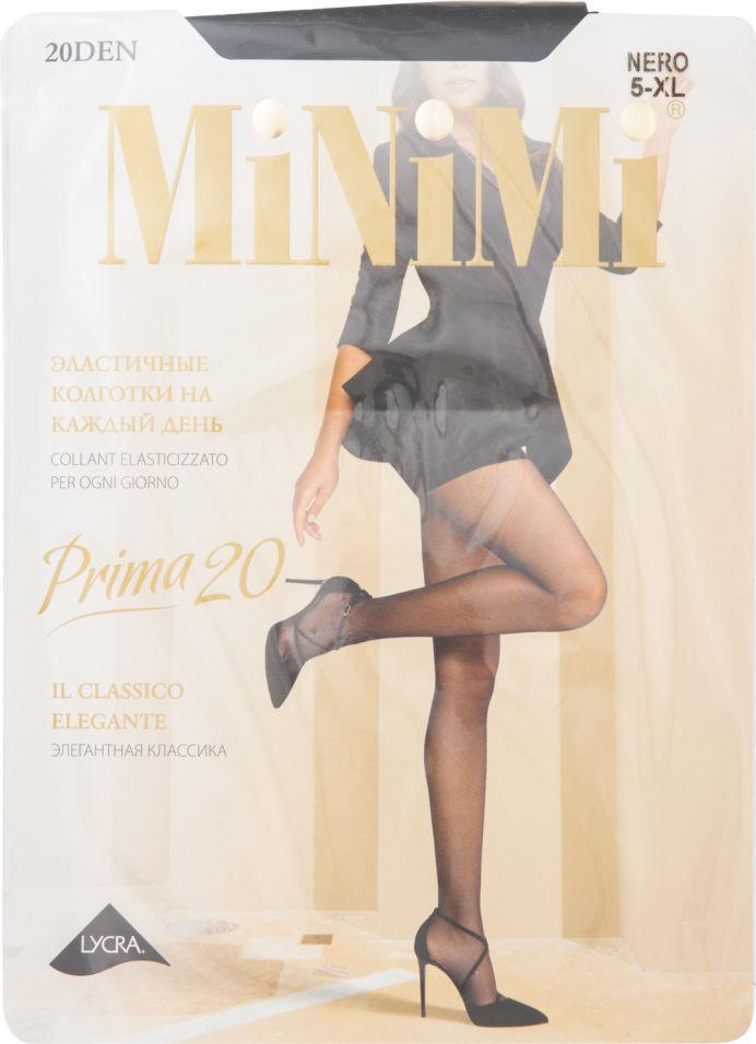 Колготки MiNiMi Prima 20 Черные Размер 5