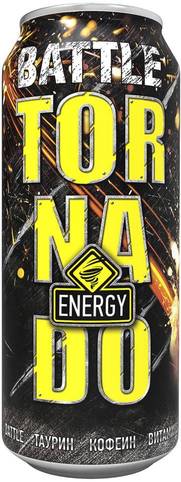 Напиток Tornado Energy Battle энергетический 450мл (упаковка 12 шт.)