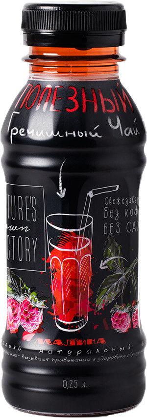 Чай гречишный Natures Own Factory с Малиной 250мл