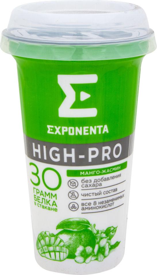 Напиток кисломолочный Exponenta Манго-жасмин обезжиренный 250г
