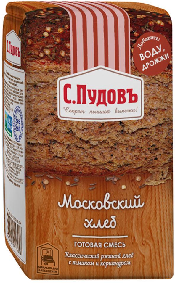 Смесь для выпечки С.Пудовъ Московский хлеб 500г