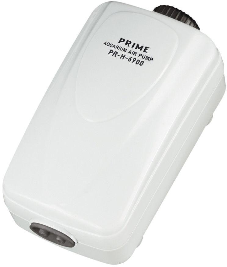 Компрессор для аквариума Prime двухканальный 2.5Вт 2*2л/мин до 80см