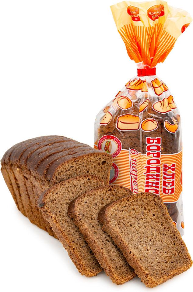 Хлеб Волжский пекарь Бородинский нарезка 300г