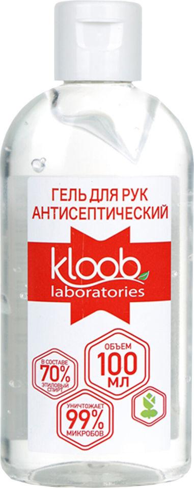Гель для рук антисептик Kloob 100мл