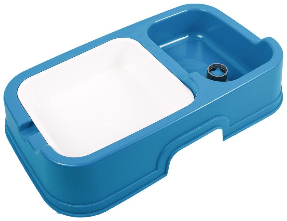 Диспенсер Lilli Pet для корма и воды + миска 34*20.5*7см