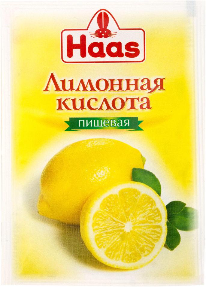 Кислота лимонная Haas 10г