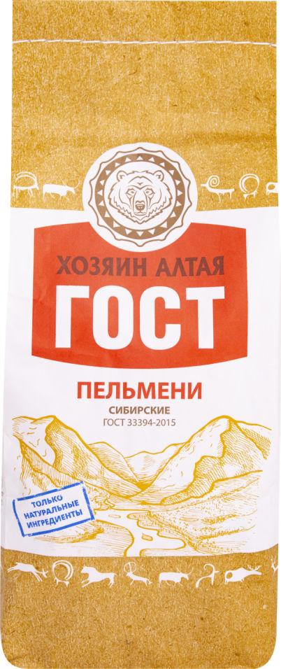 Пельмени Хозяин Алтая Сибирские 800г