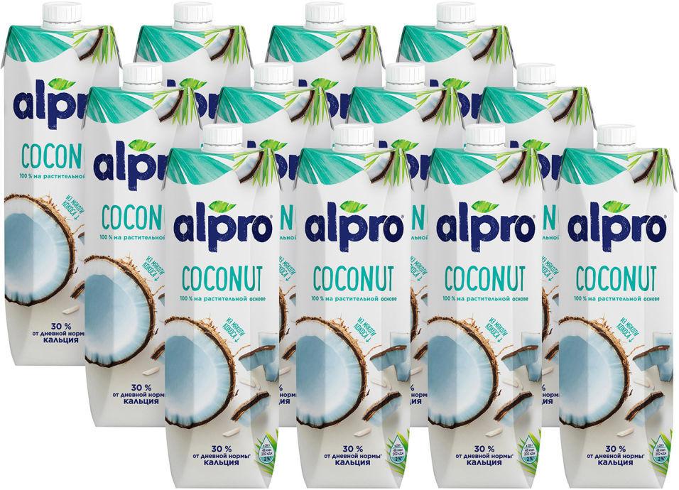 Напиток кокосовый Alpro Original 1л (упаковка 12 шт.)
