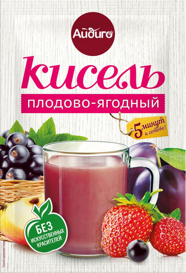 Кисель Айдиго Плодово-ягодный 80г