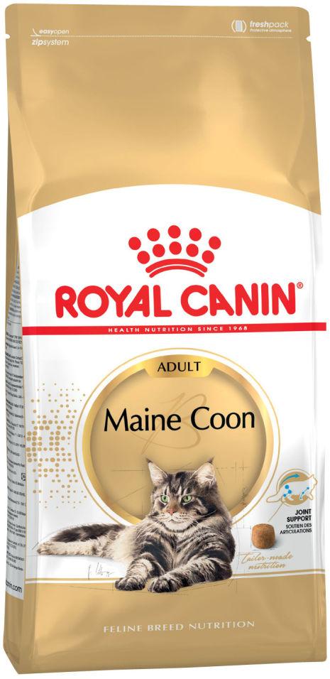 Отзывы о Сухом корме для кошек Royal Canin Maine Coon 31 Птица 2кг