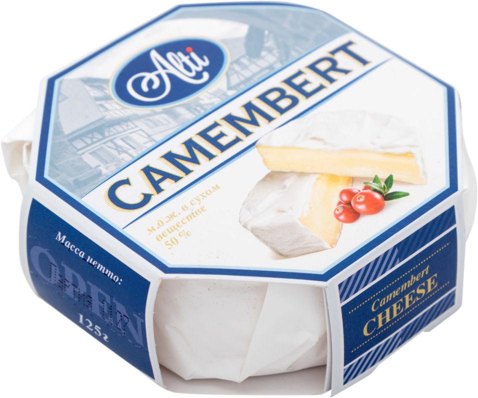 Отзывы о Сыре Alti Камамбер с белой плесенью 50% 125г