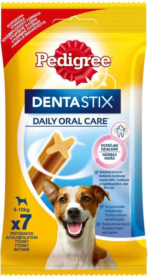 Лакомство для собак мелких пород Pedigree Dentastix для ухода за зубами 110г