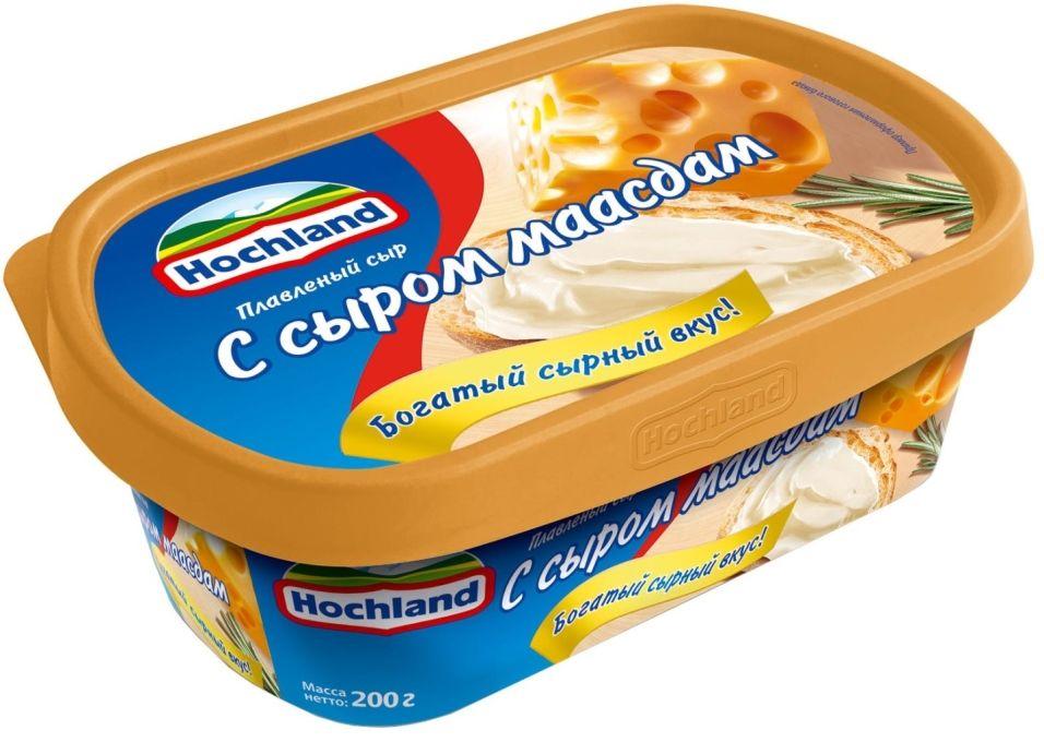 Отзывы о Сыре плавленом Hochland Сырная Классика Маасдам 50% 200г