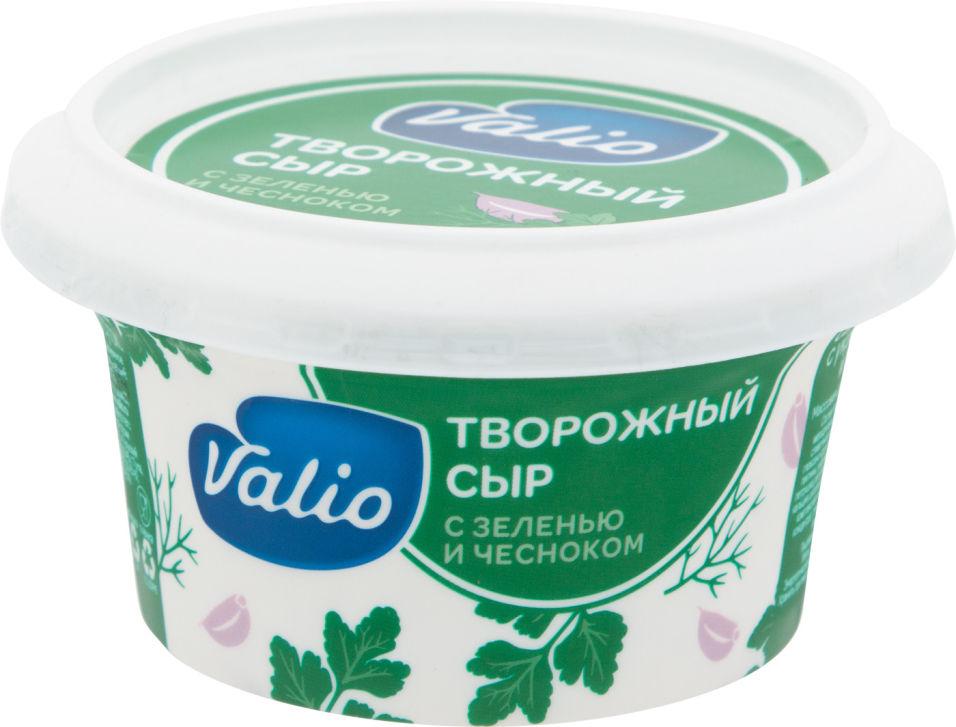 Отзывы о Сыре творожном Valio с зеленью и чесноком 66% 150г
