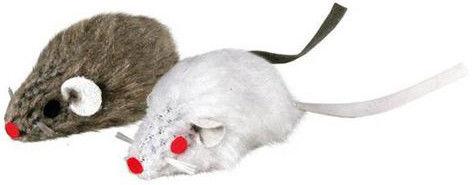 Игрушка для кошек Trixie Мыши 5см 2шт