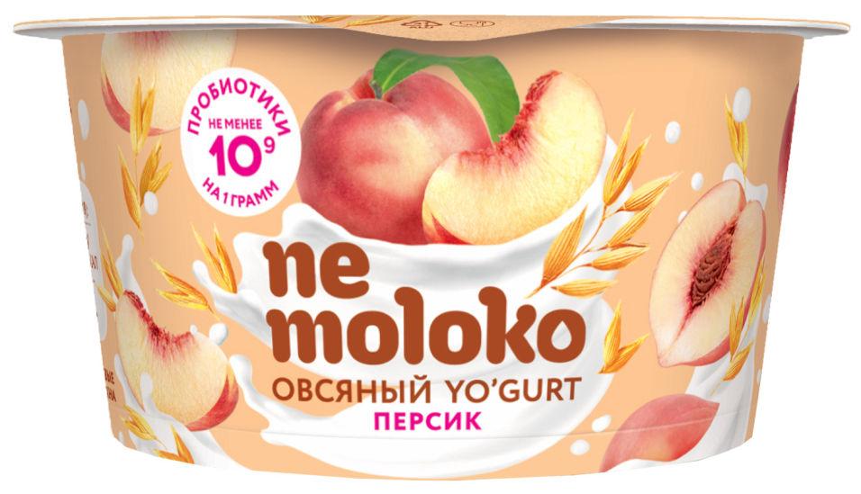 Отзывы о Йогурт Nemoloko овсяный Персик 130г