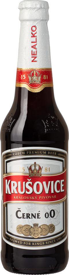 Отзывы о Пиве Krusovice Cerne безалкогольном 0.3% 0.45л