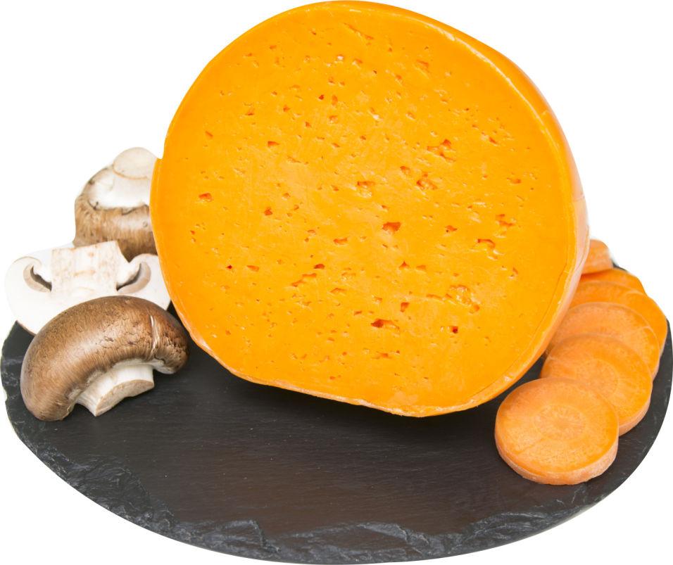 Отзывы о Сыр Flaman Mimolette с морковным соком 48%  0.4-0.7кг