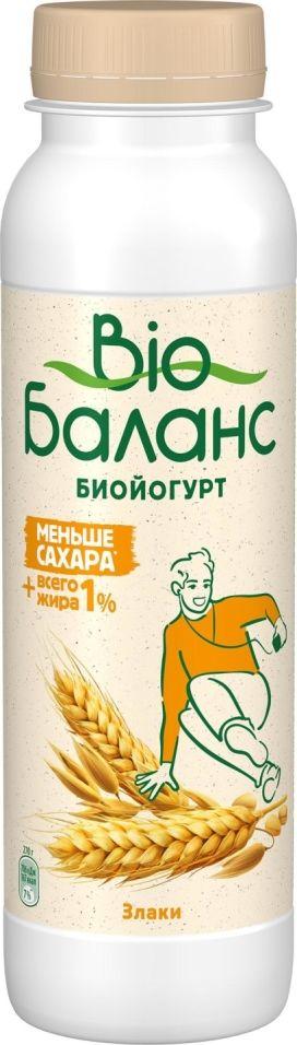 Отзывы о Биойогурте питьевом Bio Баланс со злаками 1% 270г