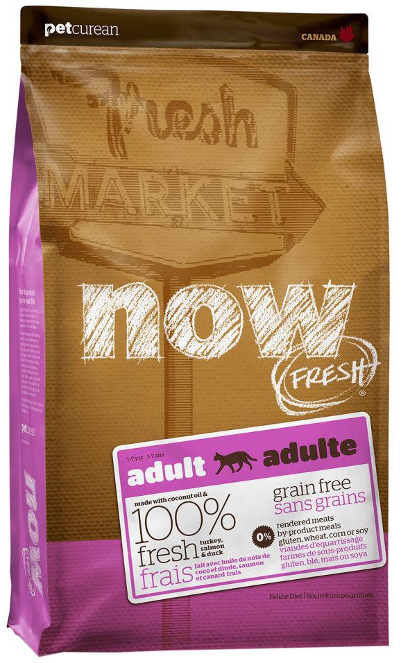 Отзывы о Сухом корме для кошек Now Fresh Adult Беззерновой с индейкой уткой и овощами 7.26кг