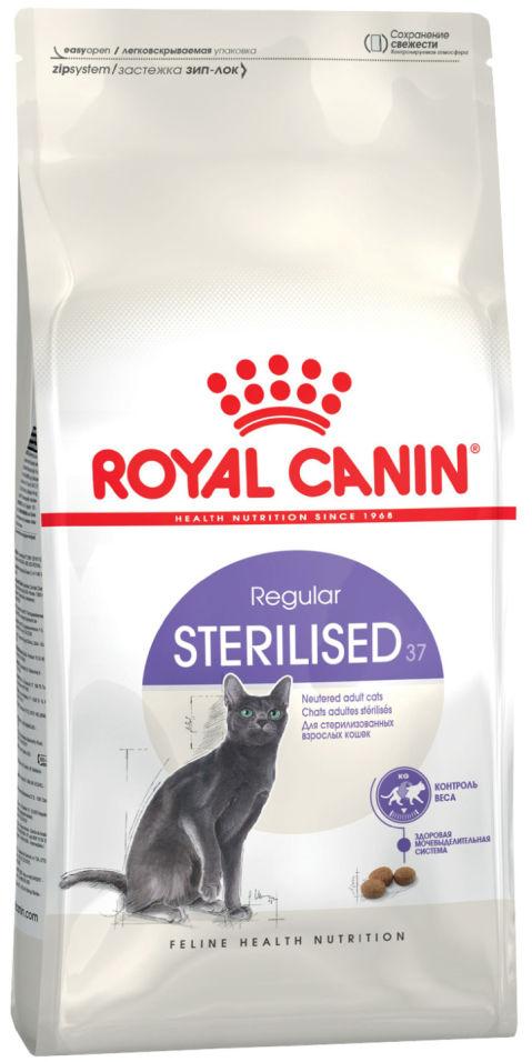 Отзывы о Сухом корме для кошек Royal Canin Sterilised 37 Птица 400г