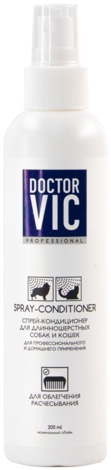 Спрей для собак и кошек Doctor VIC для облегчения расчесывания 200мл