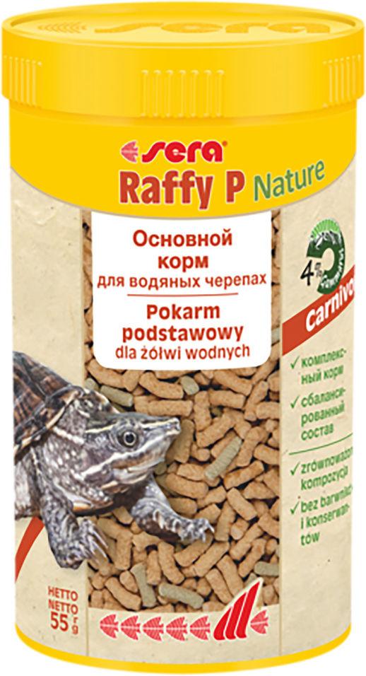 Корм для рептилий Sera Raffy P палочки 250мл