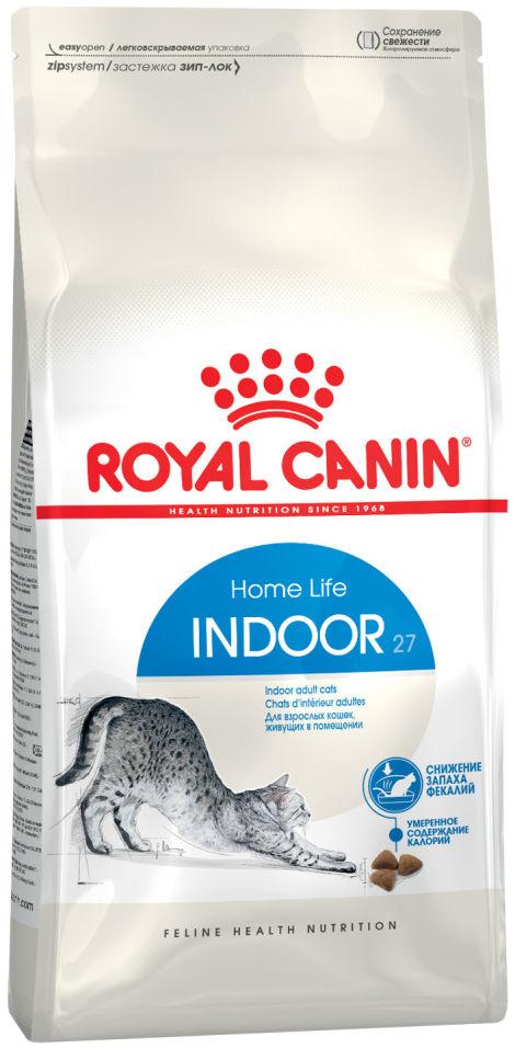 Сухой корм для кошек Royal Canin Indoor 27 Птица 4кг