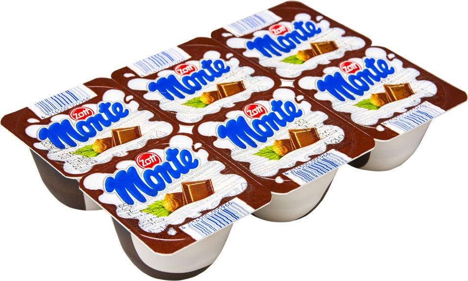 Отзывы о Десерте молочном Zott Monte Шоколад-орех 13.3% 6шт*55г