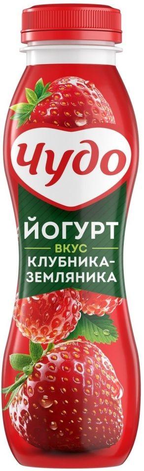 Отзывы о Йогурте питьевом Чудо Клубника-Земляника 2.4% 270г