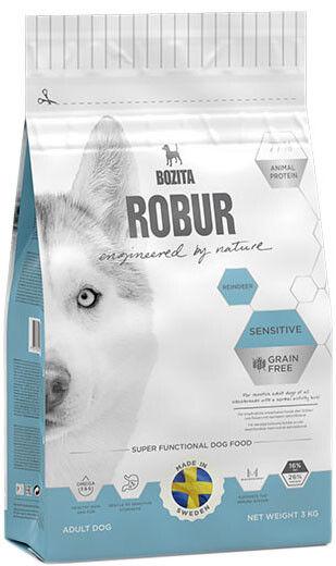 Отзывы о Сухом корме для собак Bozita Robur Sensitive Grain Free с оленем 3кг