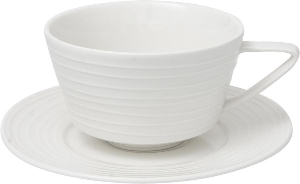 Отзывы о Чайной паре Tudor England Royal Circle чашка и блюдце 300мл
