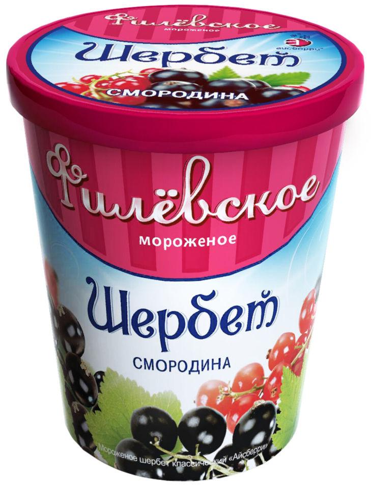 Отзывы о Мороженом Филевском Щербет Смородина 1% 275г