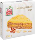 Торт Топ Шеф Миндальный замороженный 350г