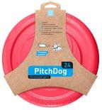 Игрушка для собак Collar PitchDog Летающий диск розовый 24см
