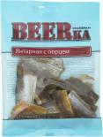 Рыбка BEERka сушеная янтарная с перцем 70г