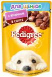 Корм для щенков Pedigree с ягненком в соусе 85г