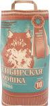 Наполнитель для кошачьего туалета Сибирская кошка Лесной древесный 10л