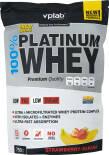 Протеин Vplab 100% Platinum Whey Клубника-банан 750г