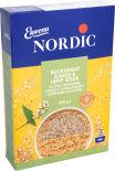 Хлопья Nordic Два вида гречки и семена конопли 370г