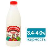 Молоко Сарафаново Отборное пастеризованное 3.4-4% 930мл