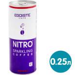 Напиток кофейный Egoiste Nitro Sparkling Coffee 250мл