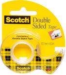 Лента Scotch Post-it двусторонняя клейкая 12х6.3мм