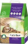 Наполнитель для кошачьего туалета Cats Best Smart Pellets древесный 20л