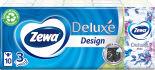Носовые платки Zewa Deluxe Design 3 слоя 10*10шт