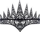 Аксессуар для карнавала Корона Королева