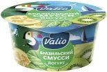 Йогурт Valio Бразильский смусси с киви фейхоа и шпинатом 2.6% 140г